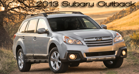 2013 Subaru Outback CUV Road Test Review by Bob Plunkett
