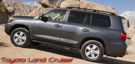 Bob Plunkett Takes the Toyota Land Cruiser Out for a Test Drive