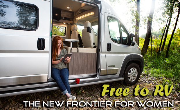 Free to RV - The New Frontier for Women