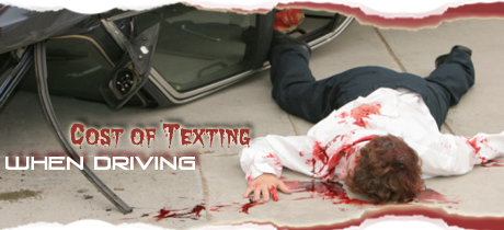 Cost of Texting While Driving by Keith Jensen
