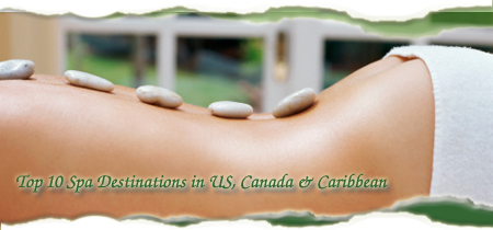 Top Spa Destinations in U.S., Canada, and Caribbean by Cheapflights.com