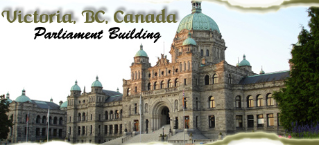 Victoria, BC, Canada Parliament Building