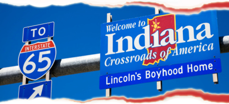 Abe Lincoln's Boyhood Home in Indiana, USA